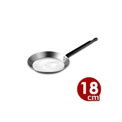SW 鉄クレープパン 18cm IH対応 鉄製 フライパン パンケーキ ホットケーキ