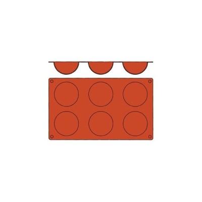 【まとめ買い10個セット品】 ガストロフレックス 半球型 L(1枚)2579.04(6ヶ取)【 製菓・ベーカリー用品 】