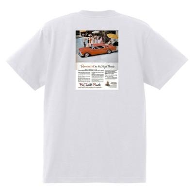 アドバタイジング ビュイック 264 白 Tシャツ 黒地へ変更可 1957 スーパー リビエラ センチュリー ロードマスター オールディーズ