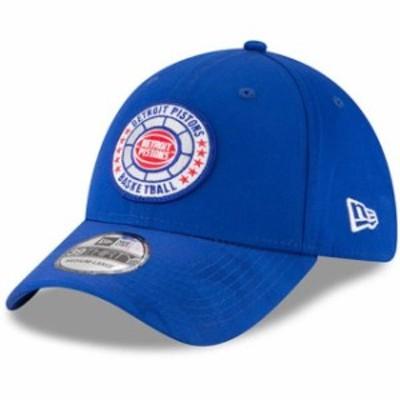 New Era ニュー エラ スポーツ用品  New Era Detroit Pistons Blue 2018 Tip Off Series 39THIRTY Flex Hat