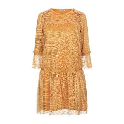 リュー ジョー LIU •JO ミニワンピース&ドレス オークル 42 ポリエステル 100% ミニワンピース&ドレス