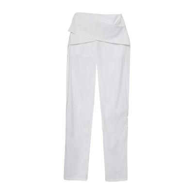 パトリツィア ペペ PATRIZIA PEPE パンツ ホワイト 42 コットン 76% / ナイロン 20% / ポリウレタン 4% パンツ