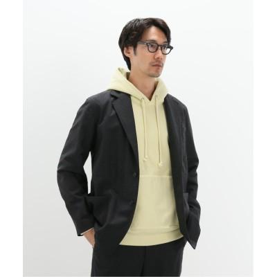 【エディフィス】  WOOL FULLING FLANNEL JACKET メンズ グレー 4 EDIFICE