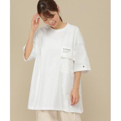 tシャツ Tシャツ CONVERSE ナイロンポケットTシャツ