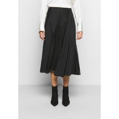 バイマレンバーガー スカート レディース ボトムス STELMA - A-line skirt - black