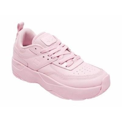 ディーシー レディース スニーカー シューズ E.Tribeka Platform Pink