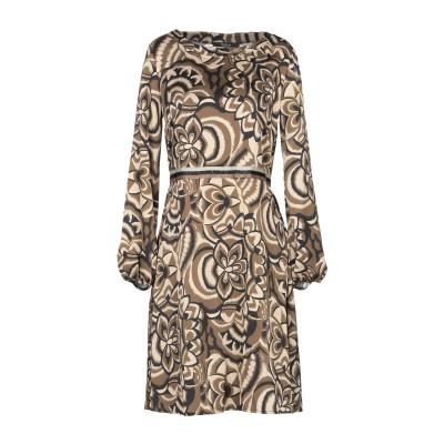 SISTE' S ミニワンピース&ドレス ミリタリーグリーン XS ポリエステル 100% ミニワンピース&ドレス