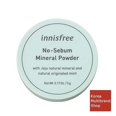ノーセバム ミネラルパウダー 5g / Innisfree No Sebum Mineral Power 5g