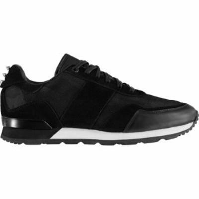 ファイヤートラップ Firetrap レディース スニーカー シューズ・靴 Crescent Trainers Black/White