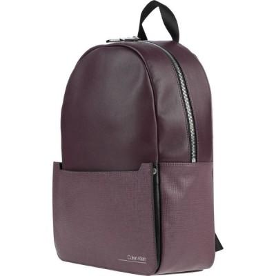 カルバンクライン CALVIN KLEIN メンズ バッグ Backpack & Fanny Pack Deep purple