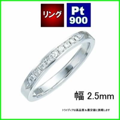プラチナPt900フェアリーダイヤモンド結婚リング写真左TRK1013【送料無料】【品質保証】【父の日】