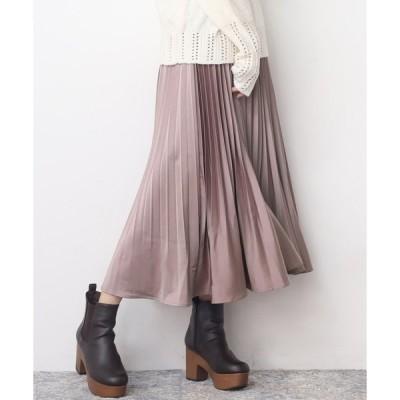 スカート 【Web限定】消しプリーツスカート