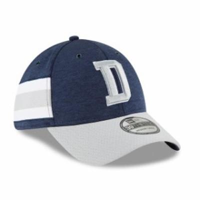 New Era ニュー エラ スポーツ用品  New Era Dallas Cowboys Youth Navy/Gray 2018 NFL Sideline Home 39THIRTY Flex Hat