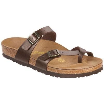 ビルケンシュトック Birkenstock USA レディース サンダル・ミュール シューズ・靴 birkenstock mayari sandal Toffee Birko-Flor