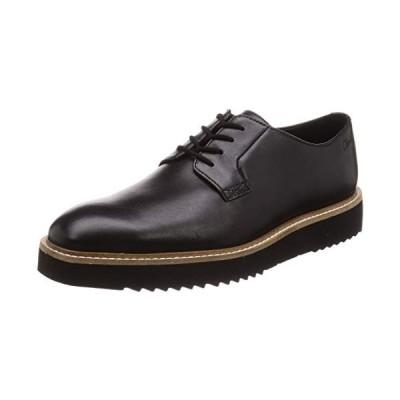 クラークス レースアップシューズ 革靴 アーネストウォーク 本革 メンズ ブラックレザー 26 cm