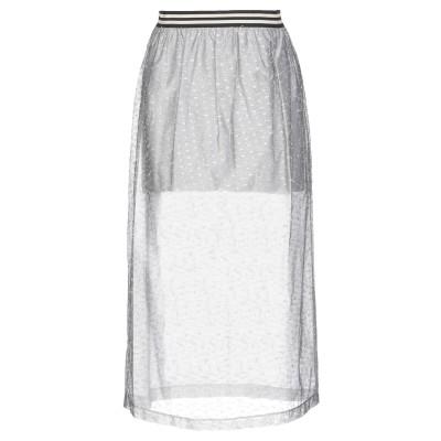 ジジル JIJIL 7分丈スカート グレー 44 コットン 61% / ナイロン 32% / ポリイミド 7% 7分丈スカート