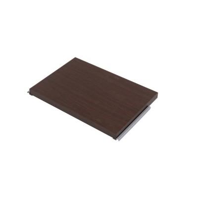 間仕切りパーテーション専用棚板2枚組 幅60 ブラウン 衝立 家具 事務所 オフィス 仕切り 商談スペース 日本製 パーティション ラダーラック 棚 NR