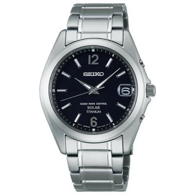 セイコー ソーラー 電波時計 SBTM229 メンズ 腕時計 SEIKO 文字名入れ刻印対応、有料 取り寄せ品