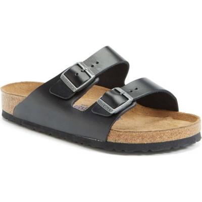 ビルケンシュトック BIRKENSTOCK メンズ サンダル シャワーサンダル シューズ・靴 Arizona Soft Slide Sandal Black