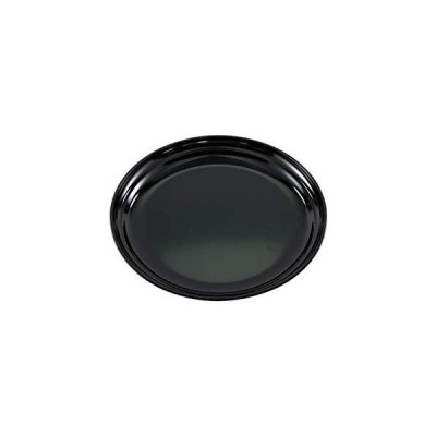 お皿 越路 銘々皿 溜 5.0 1P 越前漆器