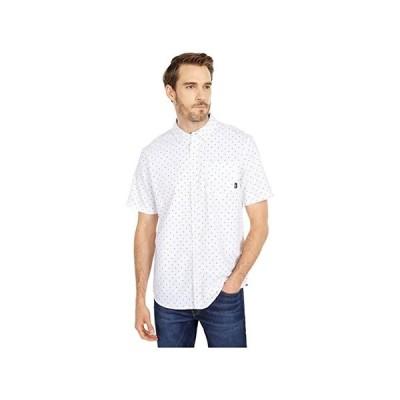 バンズ Houser Short Sleeve Woven Shirt メンズ シャツ トップス White/Victory Ditsy