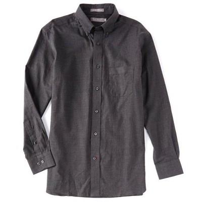 ダニエル クレミュ メンズ シャツ トップス Daniel Cremieux Signature Heather Long-Sleeve Woven Shirt