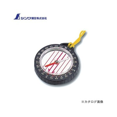 シンワ測定 方向コンパス E-2 オイル式 オリエンテーリング 丸型 75614