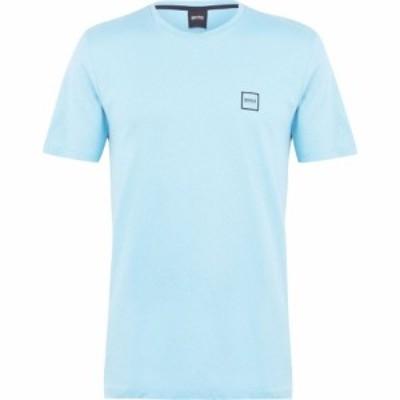 ヒューゴ ボス Boss メンズ Tシャツ トップス Tales Crew Neck T Shirt Turq