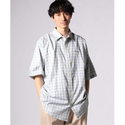 メンズ ジャーナルスタンダード 【DROLE DE MONSIEUR / ドロールドムッシュ】 Check Oversized Shirt イエロー M