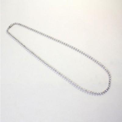◎中古美品◎プラチナ ダイヤ 10.01ct テニスネックレス