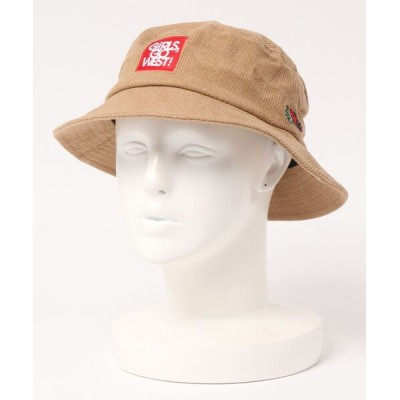 THE MORNING AFTER / [FRUIT OF THE LOOM / フルーツ オブ ザ ルーム ] FTL ANM CORDUROY BUCKET HAT / ハット MEN 帽子 > ハット