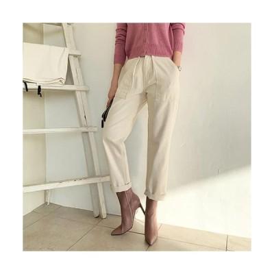 レディース パンツ Side pocket trousers