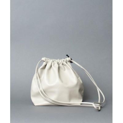 ARTCHIVES MALIBU / 【 MODERN WEAVING / モダン ウィービング 】 LAMB GATHER BUCKET ラムレザー 巾着バッグ WOMEN バッグ > ハンドバッグ