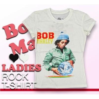 レディース ロック パンク Tシャツ Bob Marley ボブ マーリー ロックTシャツ バンドTシャツ メンズ レディース