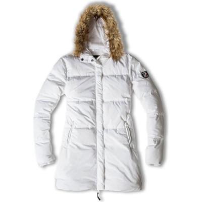 シャモニー Chamonix レディース ダウン・中綿ジャケット アウター Blanche Puffy Long Jacket white