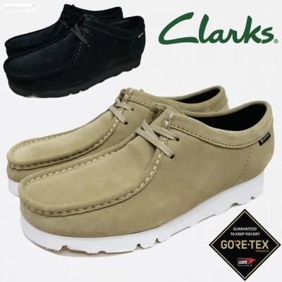 クラークス ゴアテックス ワラビー ブーツ メンズ Clarks Wallabee GTX BOOT  22-28cm