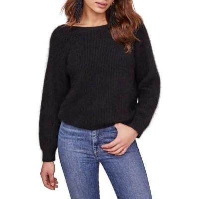 アストール レディース ニット&セーター アウター Serena V-Back Sweater BLACK