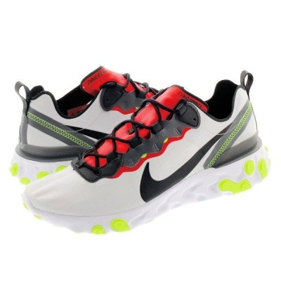 NIKE REACT ELEMENT 55 SE ナイキ リアクト エレメント 55 SE PURE PLATINUM/BLACK/DARK GREY bv1507-003
