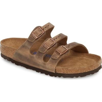 ビルケンシュトック BIRKENSTOCK レディース サンダル・ミュール シューズ・靴 Florida Sandal Tobacco Oiled Leather