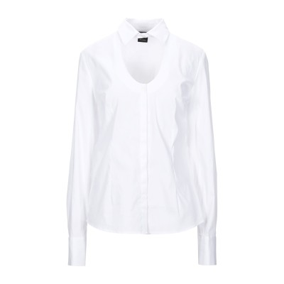 ピンコ PINKO シャツ ホワイト 38 コットン 78% / ナイロン 19% / ポリウレタン 3% シャツ