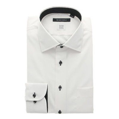 【COOL MAX】ワイドカラードレスシャツ 織柄 〔EC・BASIC〕
