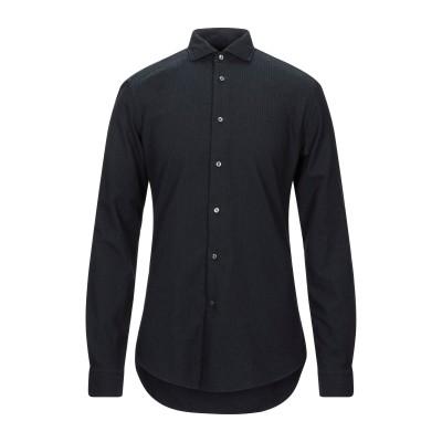 ブライアン デールズ BRIAN DALES シャツ ブラック 41 コットン 93% / ナイロン 7% シャツ