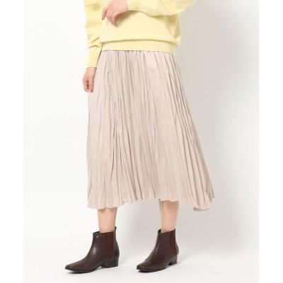 THE SHOP TK(Women)(ザ ショップ ティーケー(ウィメン)) ビンテージプリーツスカート