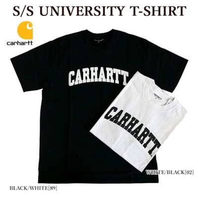 CARHARTT カーハート CARHARTT WIP S/S UNIVERSITY T-SHIRT 半袖Tシャツ カレッジロゴ ロゴTシャツ メンズ レディース