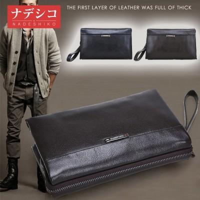 セカンドバッグ メンズ 本革 財布 クラッチバッグ メンズ バッグ 鞄 長財布 さいふ レザー 多機能 大容量 ビジネス カジュアル 通勤