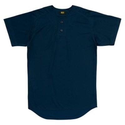 ゼット 野球 ソフト ユニフォームシャツ 16SS ネイビー ヤキュウユニホーム(bu1073-2900)