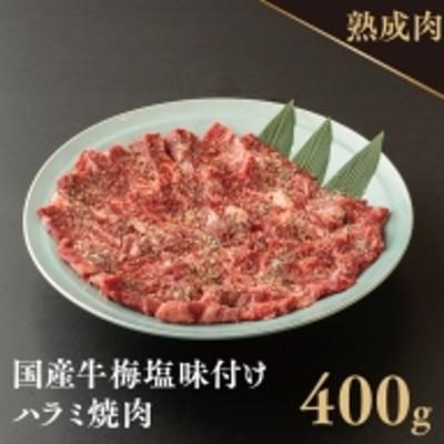 010B728 オリジナル梅塩の味付け国産牛ハラミ 400g