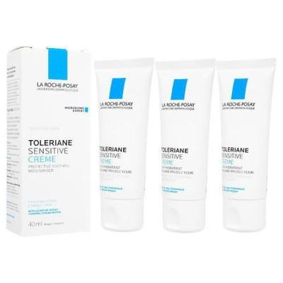 ラ ロッシュ ポゼ トレリアンセンシティブクリーム40ml ×3本 (La Roche-Posay) Toleriane Sensitive Cream【代引不可能商品】