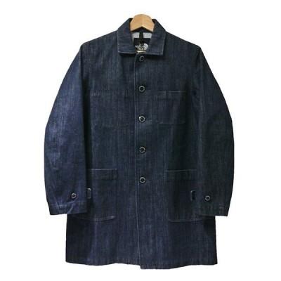 【11月20日値下】THE NORTH FACE Denim Shop Coat ゴアウインドストッパーデニムショップコート NP11541 インディ