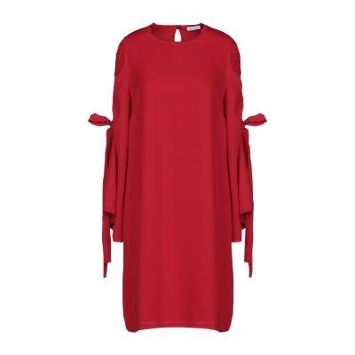 パロッシュ P.A.R.O.S.H. ミニワンピース&ドレス レッド XS 100% ポリエステル ミニワンピース&ドレス